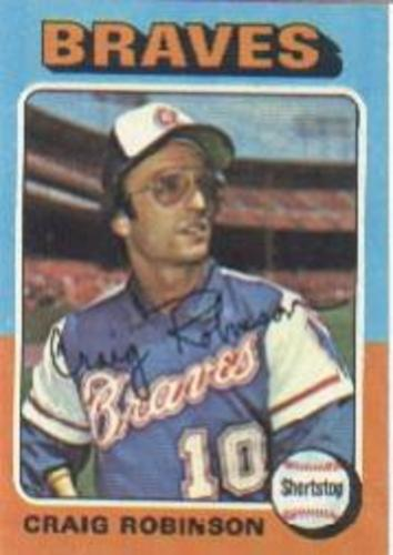 Photo of 1975 Topps #367 Craig Robinson