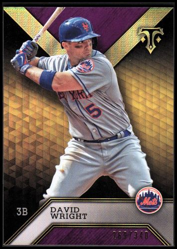 Photo of 2016 Topps Triple Threads Amethyst #11 David Wright