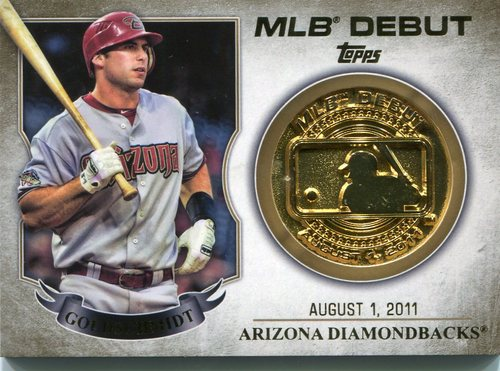Photo of 2016 Topps MLB Debut Medallion #MDMPG Paul Goldschmidt