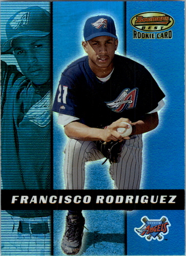 Photo of 2000 Bowman's Best #154 Francisco Rodriguez RC