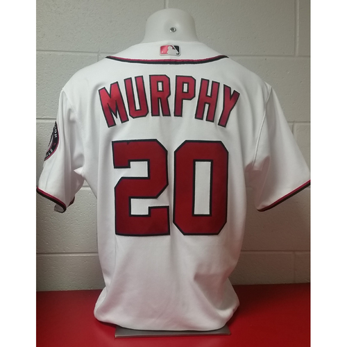 Photo of 2017 Opening Day Game-Used Jersey: Daniel Murphy