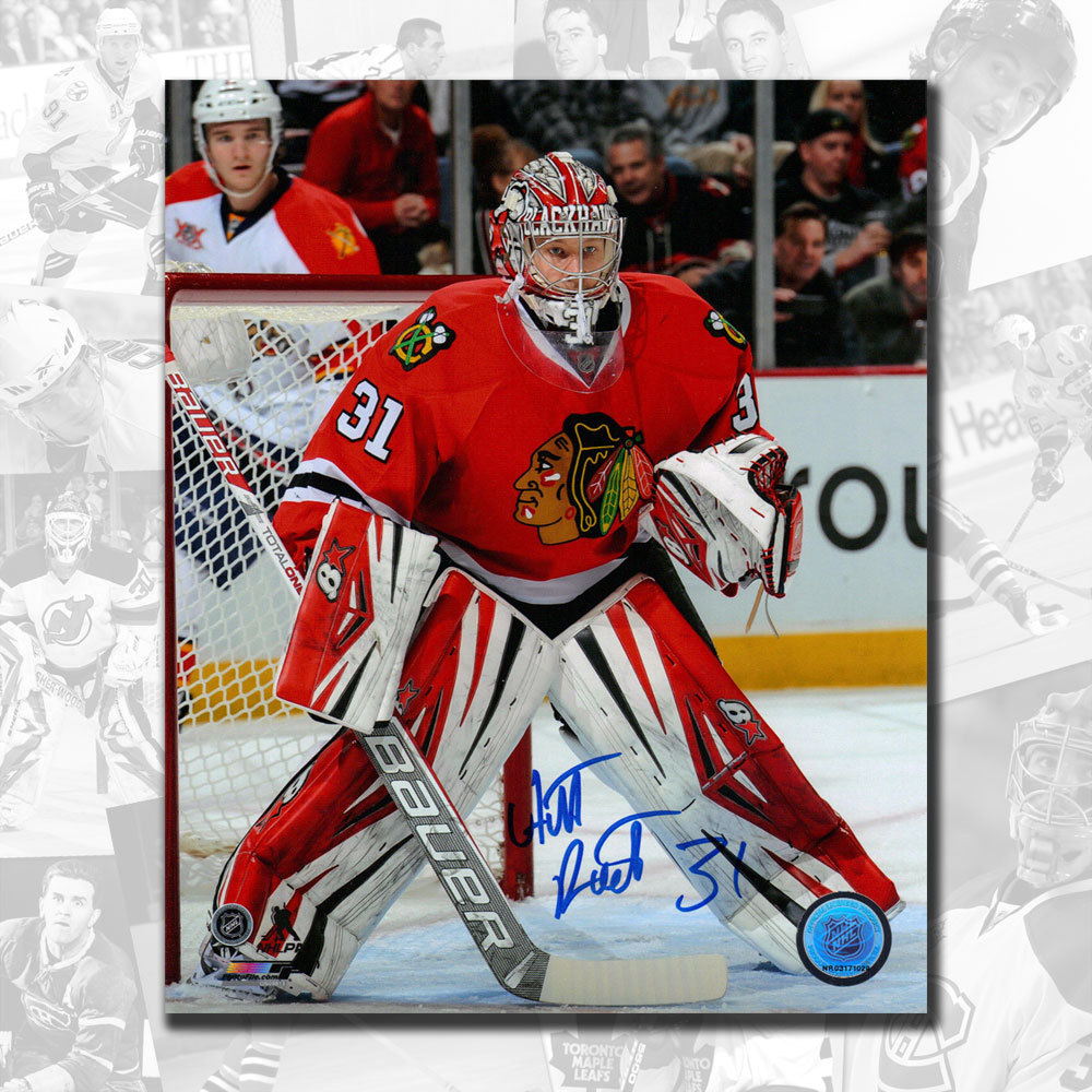 Antti Raanta Chicago Blackhawks Autographed 8x10