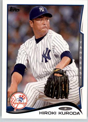 Photo of 2014 Topps #116 Hiroki Kuroda