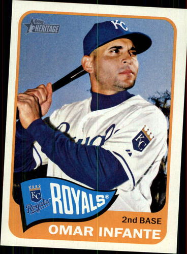 Photo of 2014 Topps Heritage #369 Omar Infante