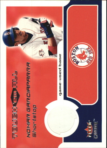 Photo of 2002 Fleer Genuine Touch Em All Game Base #6 Nomar Garciaparra