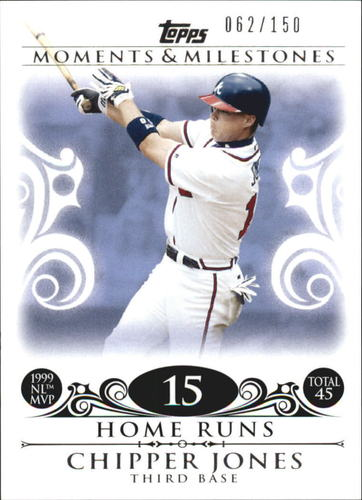 Photo of 2008 Topps Moments and Milestones #110-15 Chipper Jones