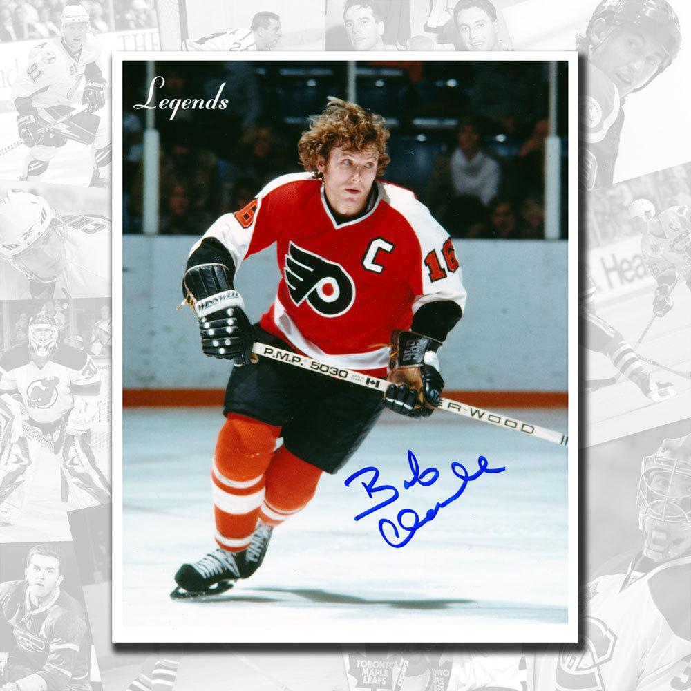 Bobby Clarke Philadelphia Flyers Legends Autographed 8x10