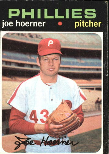 Photo of 1971 Topps #166 Joe Hoerner