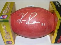 NFL - RAVENS KEENAN REYNOLDS SIGNED AUTHENTIC FOOTBALL