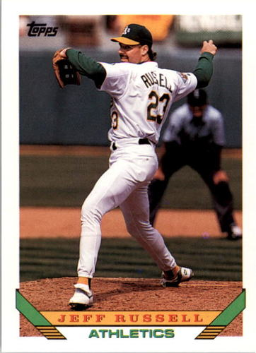 Photo of 1993 Topps #736 Jeff Russell