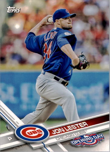 Photo of 2017 Topps Opening Day #69 Jon Lester