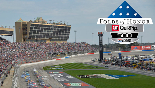 NASCAR FOLDS OF HONOR QUIKTRIP 500 AT ATLANTA MOTOR SPEEDWAY - PACKAGE 1 OF 7