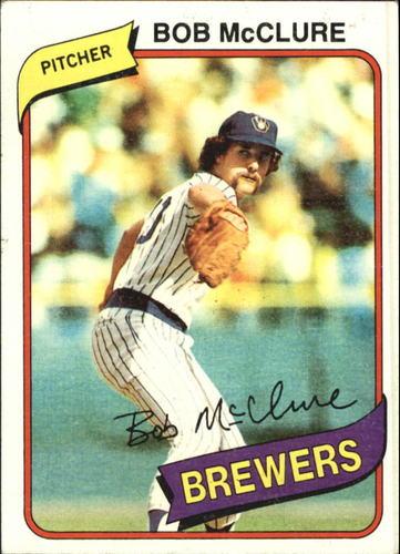 Photo of 1980 Topps #357 Bob McClure