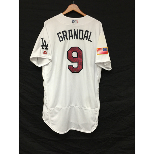 Photo of Yasmani Grandal Game-Used 4th of July Home Run Jersey
