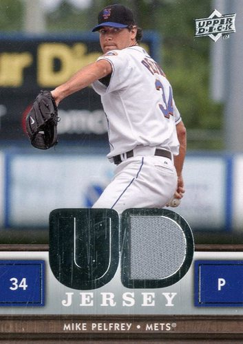 Photo of 2008 Upper Deck UD Game Materials #PE Mike Pelfrey S2