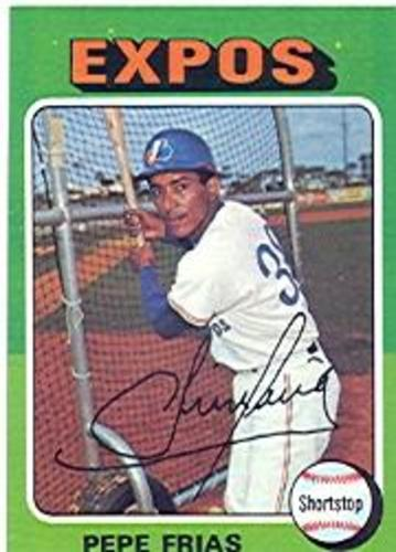 Photo of 1975 Topps #496 Pepe Frias