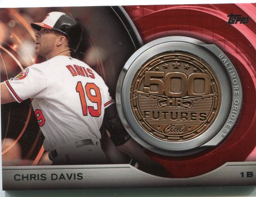 Photo of 2016 Topps Update 500 HR Futures Club Medallions #500M16 Chris Davis