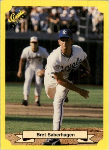 Photo of 1987 Classic Update Yellow #116 Bret Saberhagen