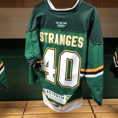 Antonio Stranges Warmup Jersey