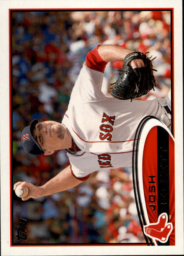 Photo of 2012 Topps #648 Josh Beckett