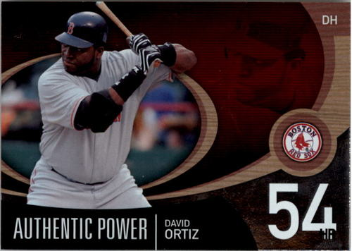 Photo of 2007 SP Authentic Authentic Power #AP14 David Ortiz