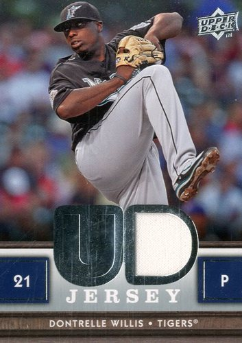 Photo of 2008 Upper Deck UD Game Materials #WI Dontrelle Willis S2