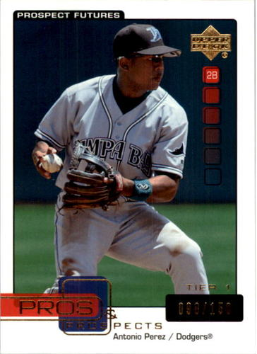 Photo of 2005 Upper Deck Pros and Prospects Gold #103 Antonio Perez T1