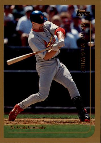 Photo of 1999 Topps #70 Mark McGwire