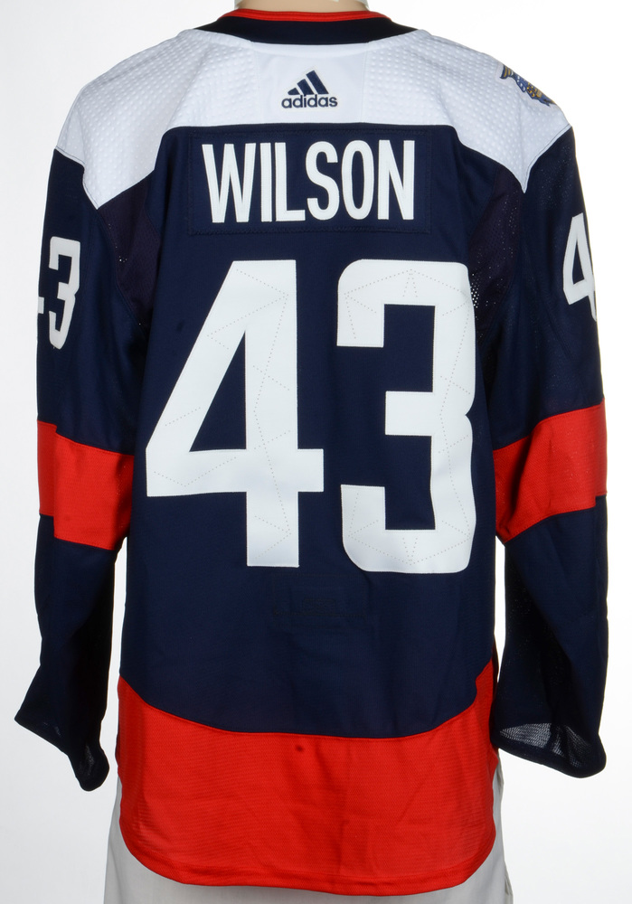 Tom Wilson Washington Capitals Game-Worn 2018 NHL Stadium Series Jersey