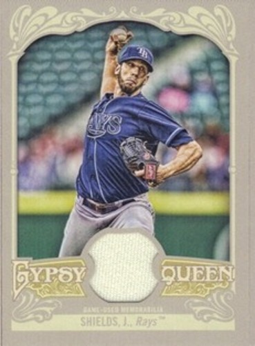 Photo of 2012 Topps Gypsy Queen Relics #JS James Shields
