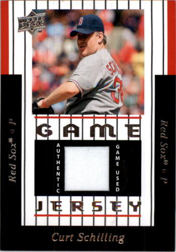 Photo of 2008 Upper Deck UD Game Materials 1997 #CS Curt Schilling