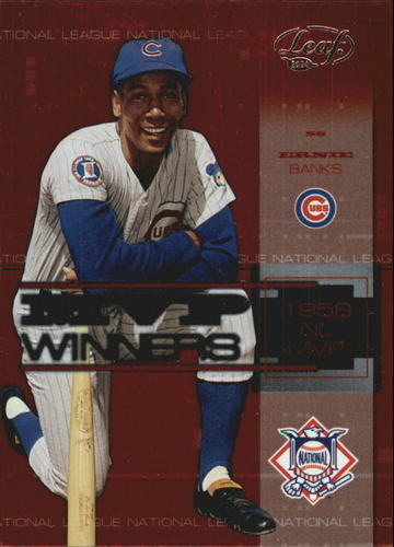 Photo of 2004 Leaf MVP Winners #2 Ernie Banks