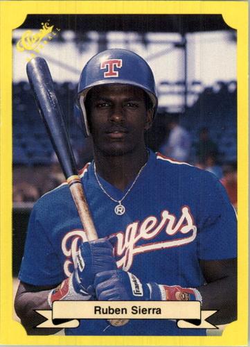 Photo of 1987 Classic Update Yellow #149 Ruben Sierra