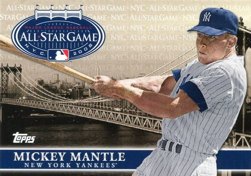 Photo of 2008 Topps All-Star FanFest #7 Mickey Mantle