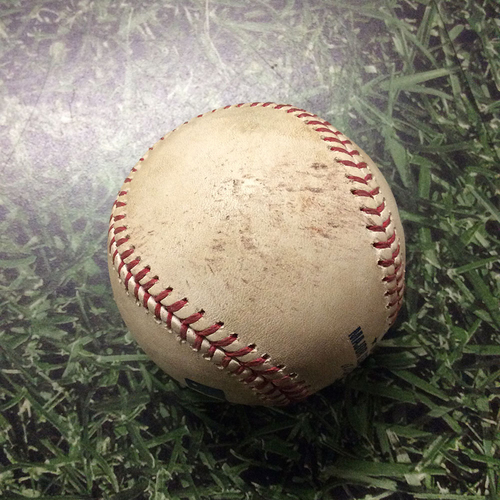 Game-Used Baseball 10/16/11 STL@MIL - Game 6, 2011 National League Championship Series