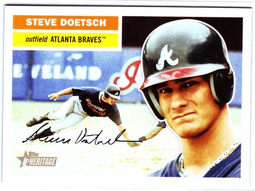 Photo of 2005 Topps Heritage #172 Steve Doetsch RC