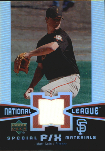 Photo of 2006 Upper Deck Special F/X Materials #MA Matt Cain Jsy