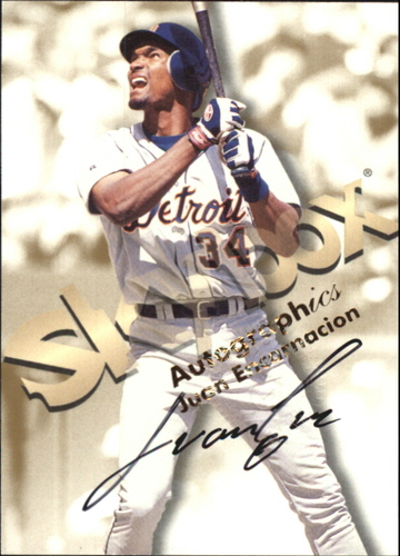 Photo of 1999 SkyBox Premium Autographics #17 Juan Encarnacion