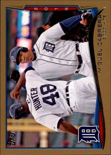 Photo of 2014 Topps Update Gold #US300 Miguel Cabrera