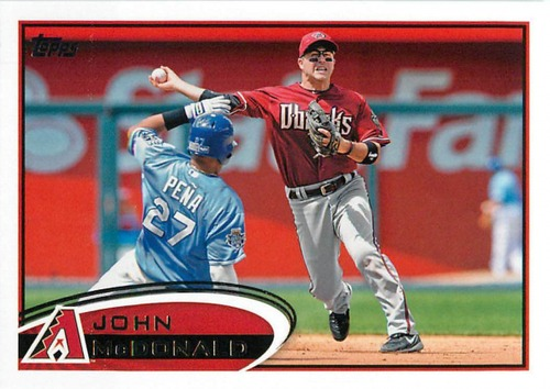 Photo of 2012 Topps Update #US126 John McDonald