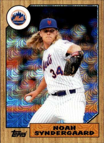 Photo of 2017 Topps '87 Topps Silver Pack Chrome #87NS Noah Syndergaard