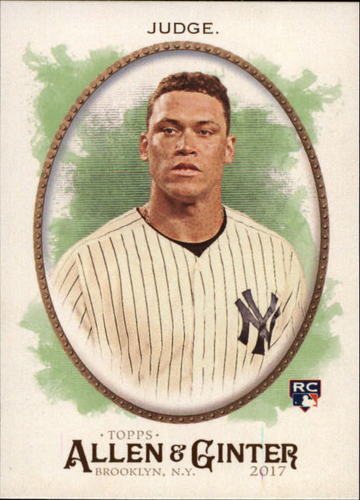 Photo of 2017 Topps Allen and Ginter #172 Aaron Judge RC