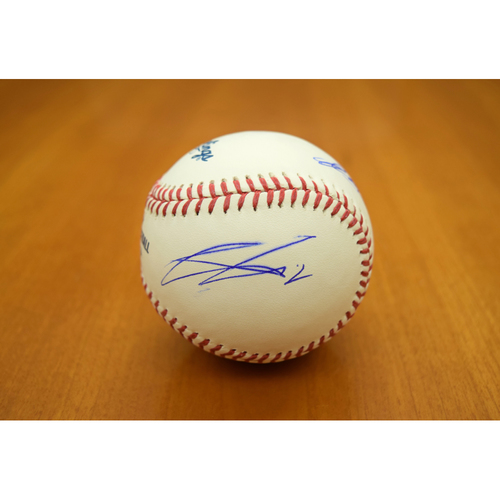 Photo of Detroit - the Movie - Cast Signed Baseball (Mackie, Boyega, Smith, Poulter) - Not Authenticated by MLB