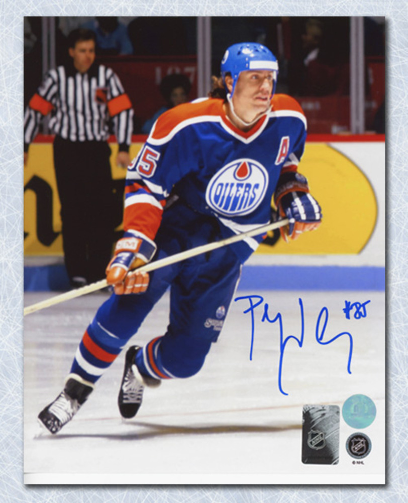 Petr Klima Edmonton Oilers Autographed 8x10 Photo