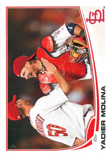Photo of 2013 Topps #4 Yadier Molina