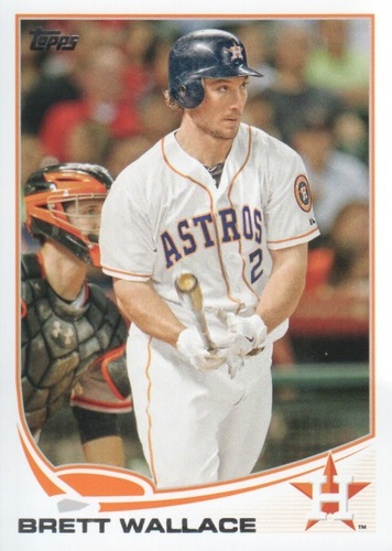 Photo of 2013 Topps #538 Brett Wallace