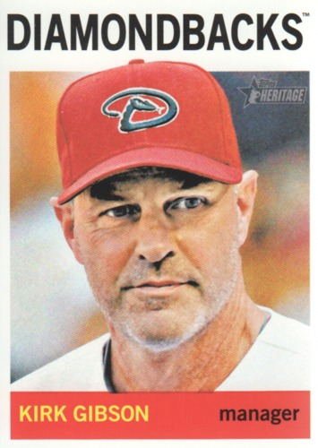 Photo of 2013 Topps Heritage #102 Kirk Gibson