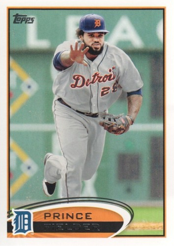 Photo of 2012 Topps #650A Prince Fielder