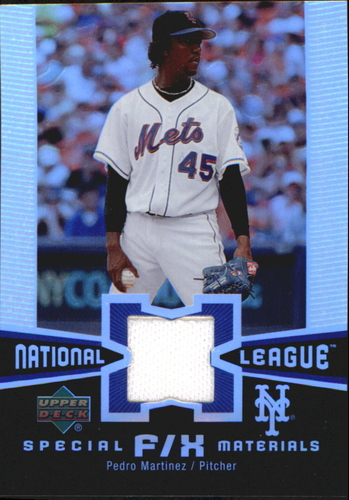Photo of 2006 Upper Deck Special F/X Materials #PM Pedro Martinez Jsy
