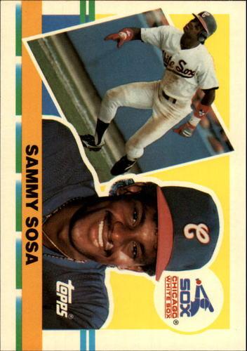 Photo of 1990 Topps Big #286 Sammy Sosa